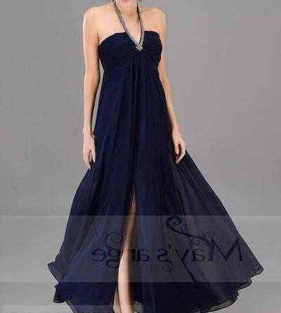 Achat en ligne Blanche porte robe longue Les dupes