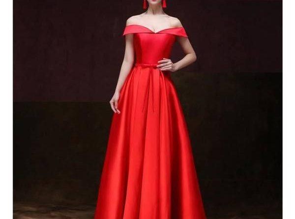 Robe Femme Rouge Multi Longue À Fleurs Guess 2019 Pas Cher
