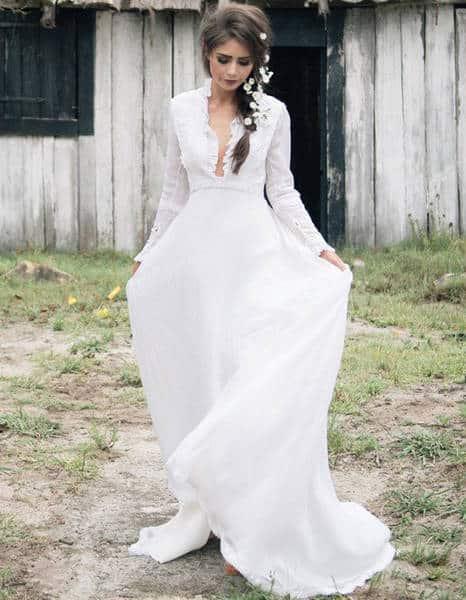 robe de mariée vintage courte
