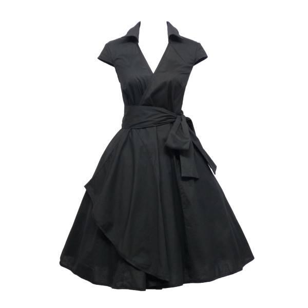 robe vintage dentelle année 50
