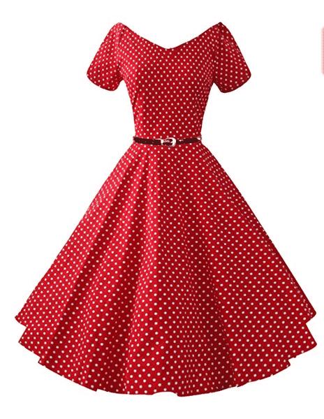 robe vintage pour femme ronde