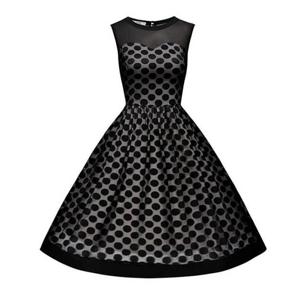 robe année 50 vintage