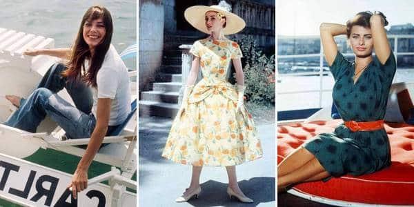 robe fleurie vintage
