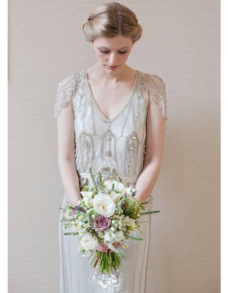 robe de mariée vintage année 40