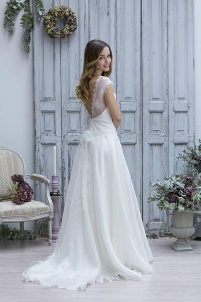 robe de mariée vintage boheme