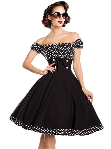 robe pin up ivoire