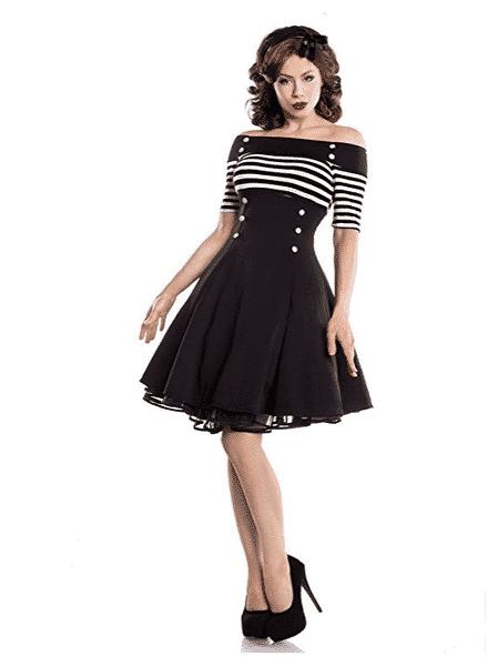 robe fleurie pin up