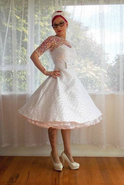 robe de marier pin up