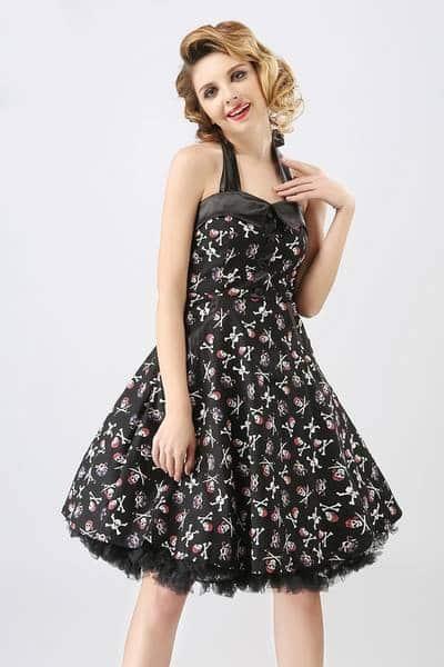robe rockabilly fille
