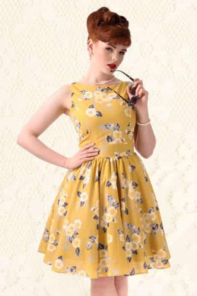 robe des années 50 soirée