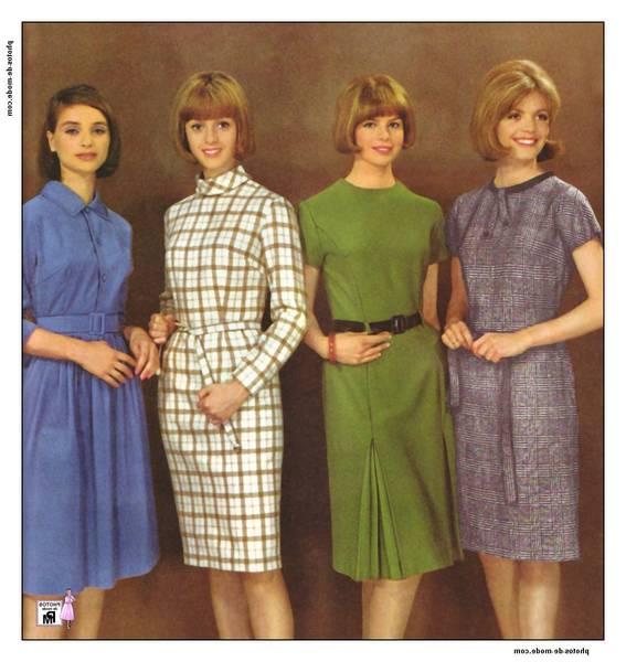 robe des années 70 80