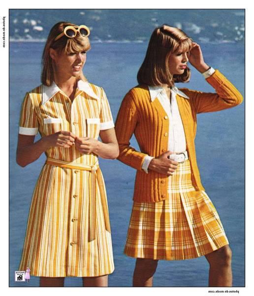 robe des années 50-60