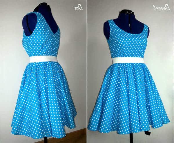 robe enfant années 60