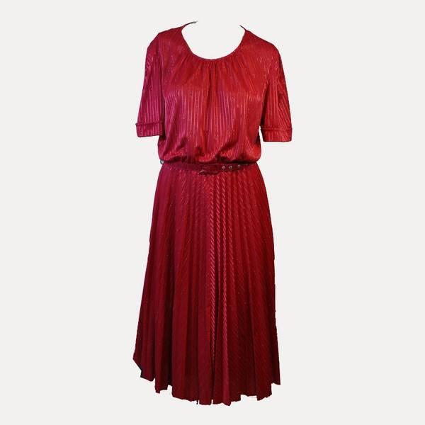 robe années 60 damier