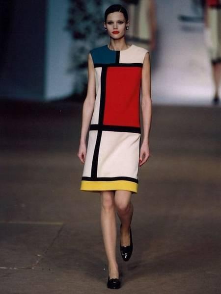robe chic des années 80