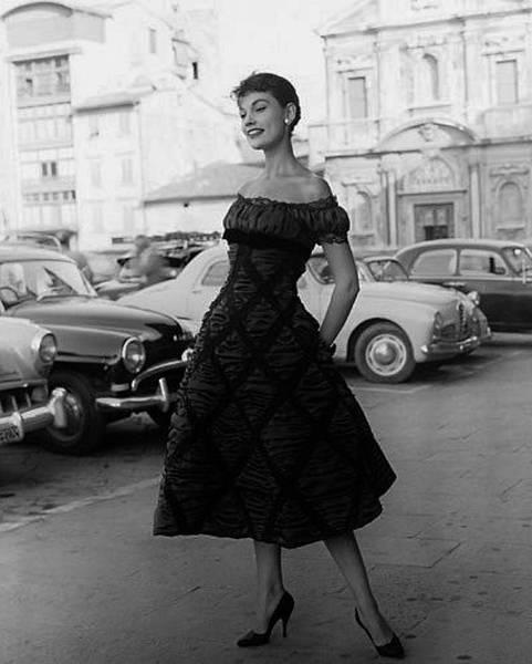 robe vintage années 50 60