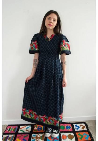 robe des années 50 60