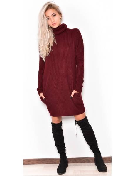 robe pull avec cuissarde