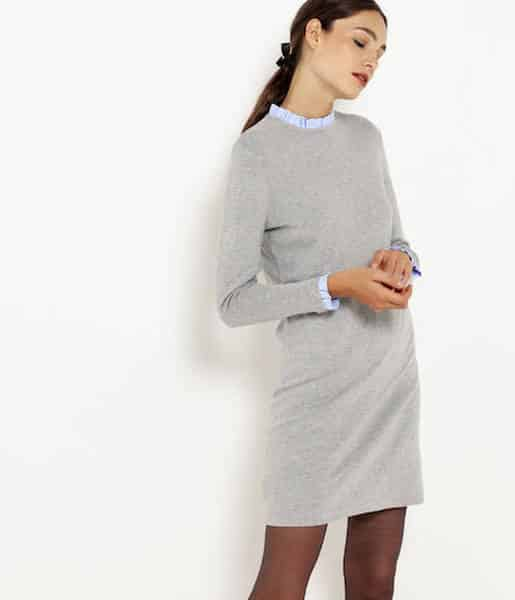 pull robe tricot
