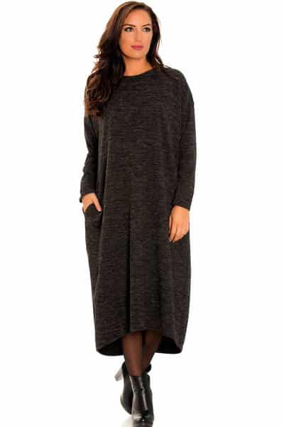 robe pull laine moulante