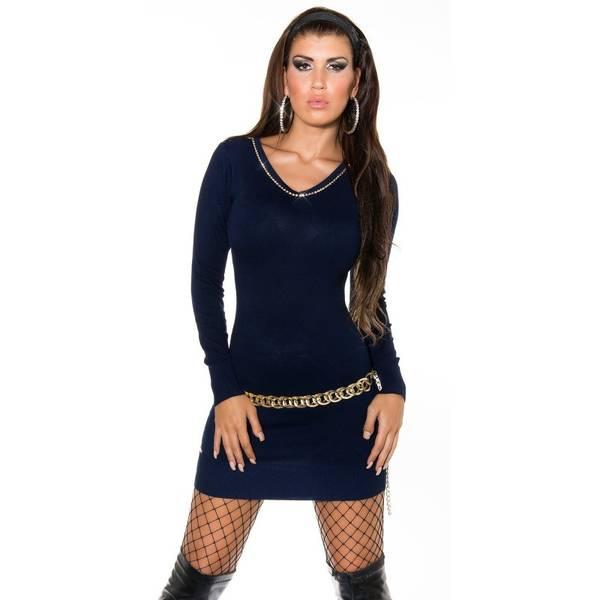 idée de tenue avec robe pull hiver