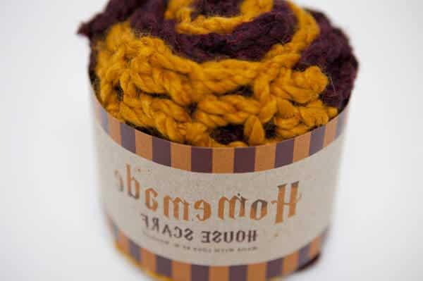 modele tricot echarpe harry potter