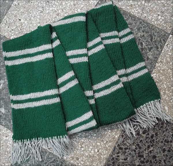 tricoter une écharpe harry potter gryffondor