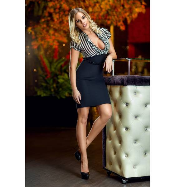 robe sexy et cuissarde